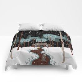 poison apple Comforters