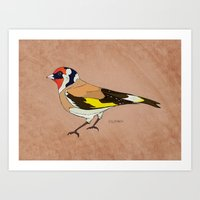 The Goldfinch Art Print