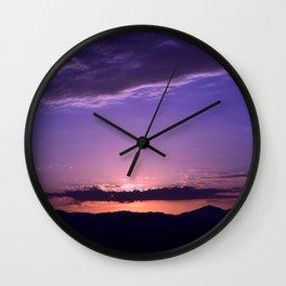 Southwest Sunrise - IV Wall Clock