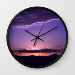 Southwest Sunrise - IV Wall Clock