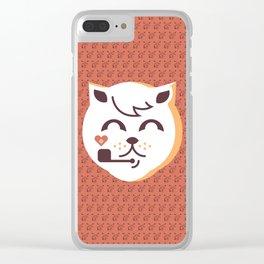 UNDO |ILU Pet Lover series [ brando ] Clear iPhone Case