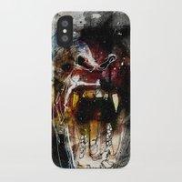 gorilla iPhone & iPod Cases featuring Gorilla by Ed Pires