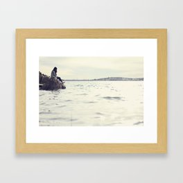 No Need to be Lonely. Framed Art Print