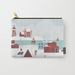 Christmas Village 2 Carry-All Pouch