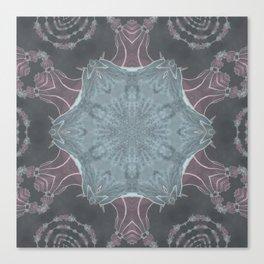 Samurai Mandala Canvas Print