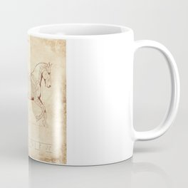 Da Vinci Horse: Canter Coffee Mug