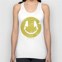 deadmau5 Tank Tops featuring Music Smile by Sitchko Igor