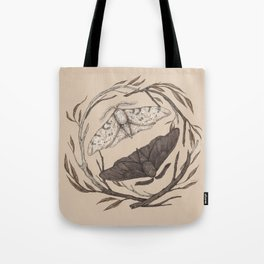 Peppered Moths Tote Bag