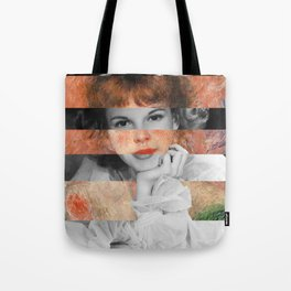 Renoir's Jeanne Samary in a low necked dress & Judy Garland Tote Bag