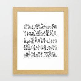 SOMA 2008 Framed Art Print