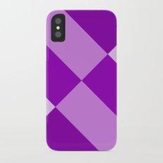 Purple Gradient iPhone X Slim Case