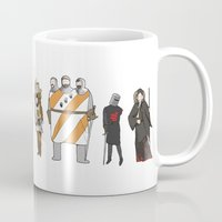 monty python Mugs featuring monty python and the holy grail by Michael Constantine