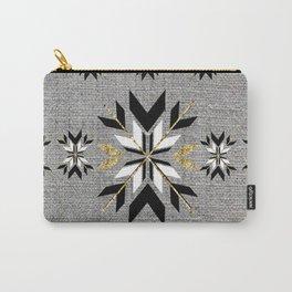 Art Deco Fair Isle Carry-All Pouch