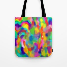 "Rainbow ""Watercolor"" Tote Bag"