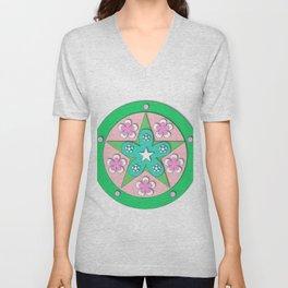 Mandala of Peace Unisex V-Neck
