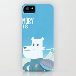 Moby the bear  iPhone Case
