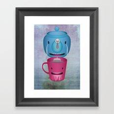 Tea Potty Framed Art Print