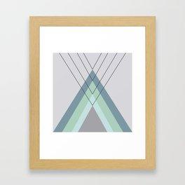 Iglu Mint Framed Art Print