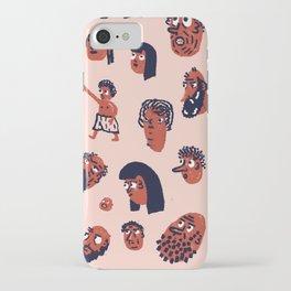 Desert People iPhone Case