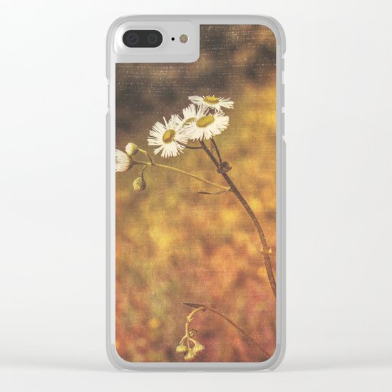 Don't Eat The Daisies Clear iPhone Case
