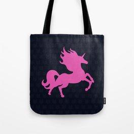 Visible Invisible Pink Unicorn Tote Bag