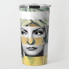 Matisse's Woman with a Turban & Greta Garbo Travel Mug