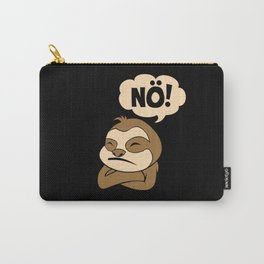 Morning Grouch Insults Nö Bad Mood Sloth Carry-All Pouch
