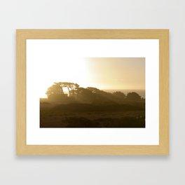 Point Cabrillo Headlands - Northern California Coast Framed Art Print