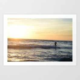 Surf's Up, Brah Art Print