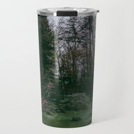 flight over the japanese gardens Travel Mug