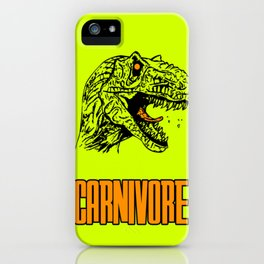Carnivore iPhone Case