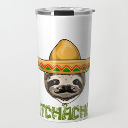 Adios Bitchachos Sloth Travel Mug