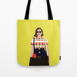 Peggy Olson Mad Men Tote Bag