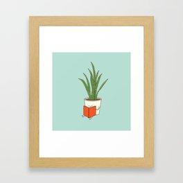 indoor plants Framed Art Print
