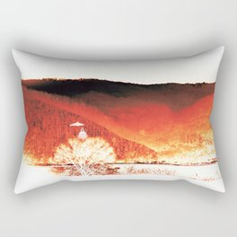 Red Mountain Rectangular Pillow