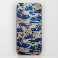 boats iPhone & iPod Skins featuring Boats by Heather Fraser