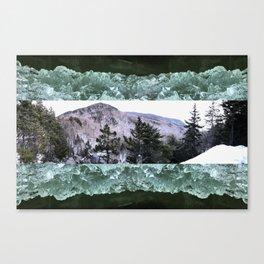 Wondrous Winter Scene Canvas Print