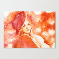 princess Canvas Prints featuring Princess by Aurora Wienhold
