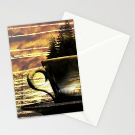 Cup of Tree Stationery Cards