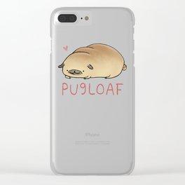 Pugloaf Clear iPhone Case