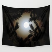 frame Wall Tapestries featuring Pine Frame by Heidy Rolland