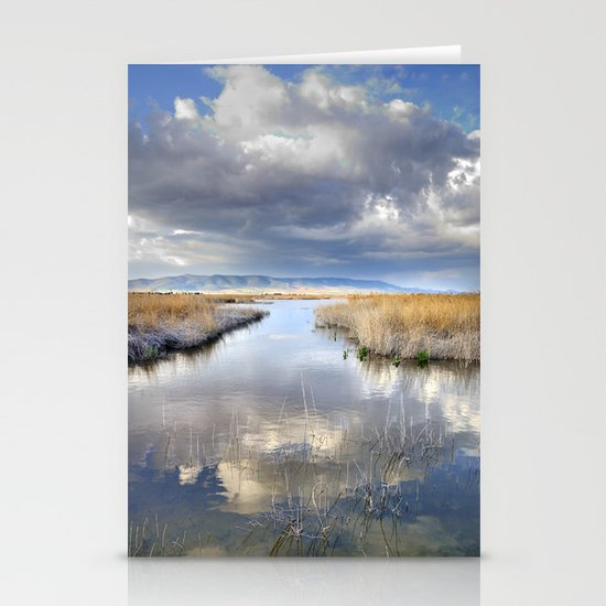 the way for major storms Stationery Cards