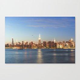 New York City Blues Canvas Print