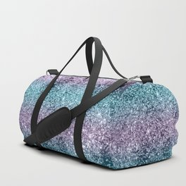 Mermaid Girls Glitter #8 #shiny #decor #art #society6 Duffle Bag