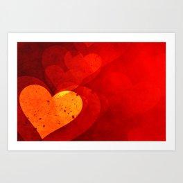Heart Beat New Art Print
