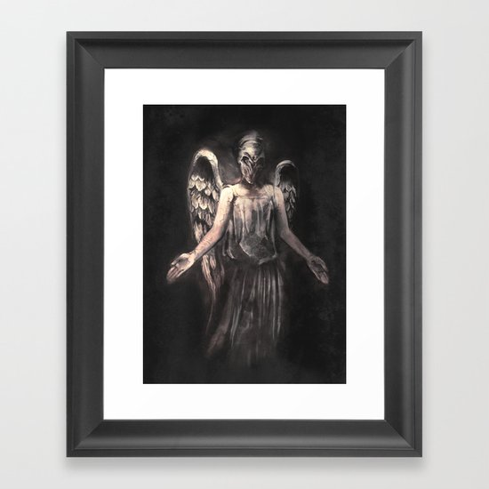 I've Forgotten Why I Shouldn't Blink Framed Art Print