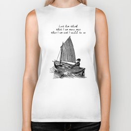 Ernest Hemingway - The Old Man and the Sea Biker Tank