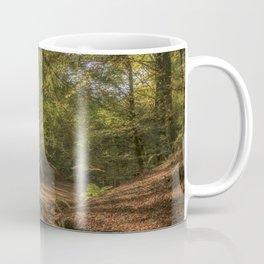 Autumn Woodland  Sunrise Coffee Mug