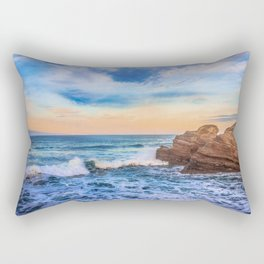 Bay of Biscay Rectangular Pillow