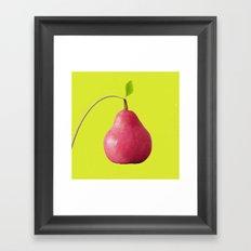 Pink Pear Framed Art Print